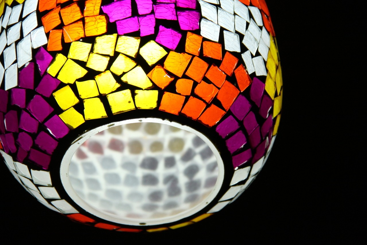Lampy prezentowane są w różnych wielkościach